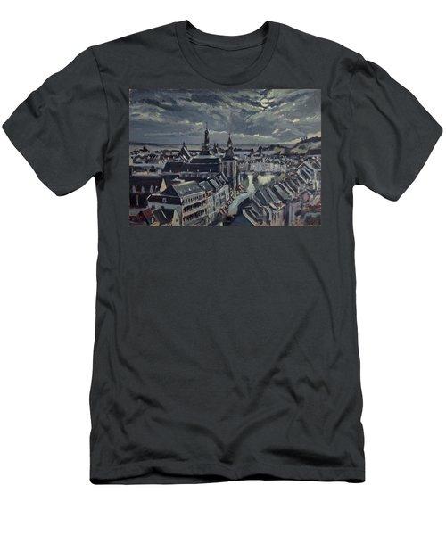 Maastricht By Moon Light Men's T-Shirt (Slim Fit)