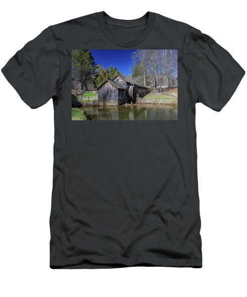 Mabry Mill Late Fall Men's T-Shirt (Athletic Fit)