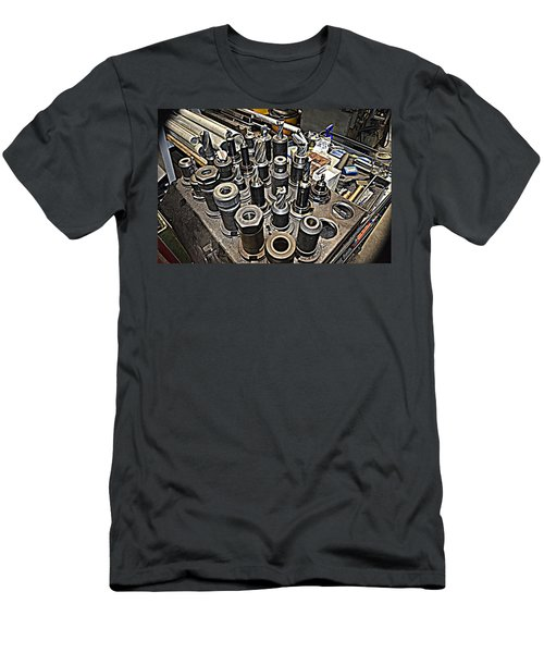 Machinist Shop Tools Series 4 Men's T-Shirt (Athletic Fit)