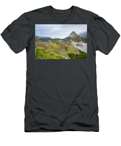 Machu Picchu. Men's T-Shirt (Athletic Fit)