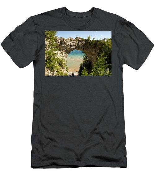 Mackinac Island Arch Men's T-Shirt (Athletic Fit)