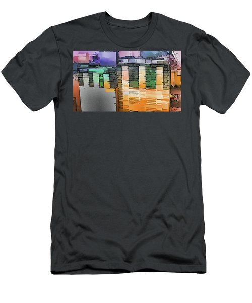 Men's T-Shirt (Slim Fit) featuring the digital art Made For Each Other by Wendy J St Christopher