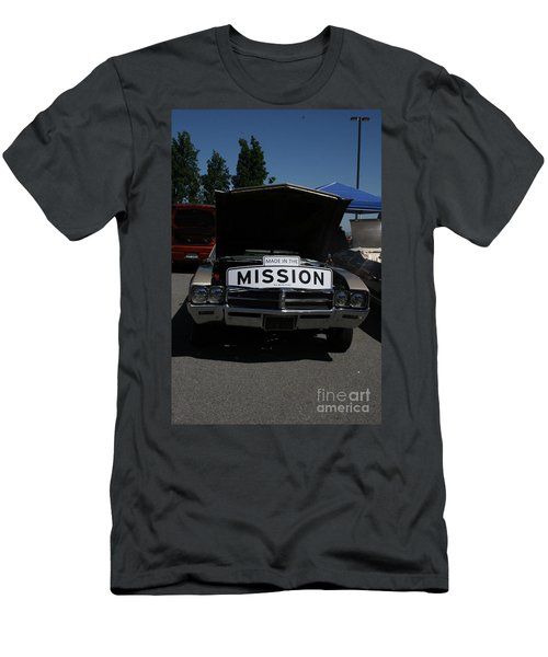 Men's T-Shirt (Athletic Fit) featuring the photograph Made In The Mission by Cynthia Marcopulos
