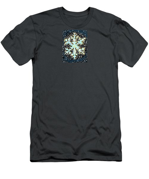 Madeline Snowflake Men's T-Shirt (Athletic Fit)