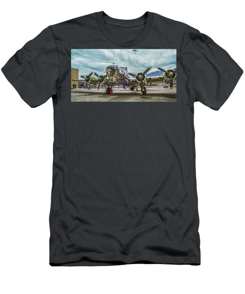 Madras Maiden B-17 Bomber Men's T-Shirt (Athletic Fit)