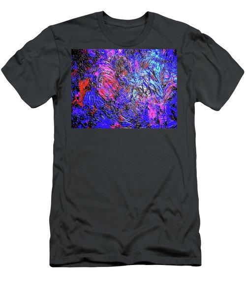 Magic Blue Men's T-Shirt (Athletic Fit)