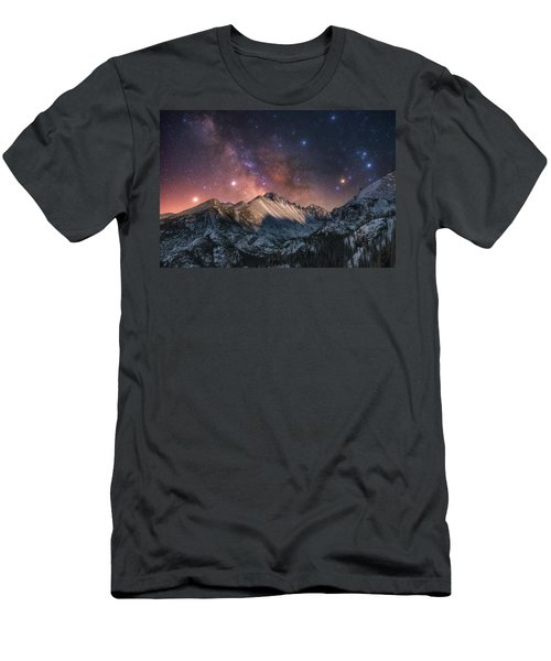 Men's T-Shirt (Athletic Fit) featuring the photograph Magic In The Mountains by Darren White