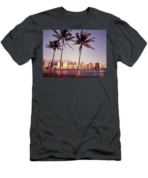 Magic Island Men's T-Shirt (Athletic Fit)