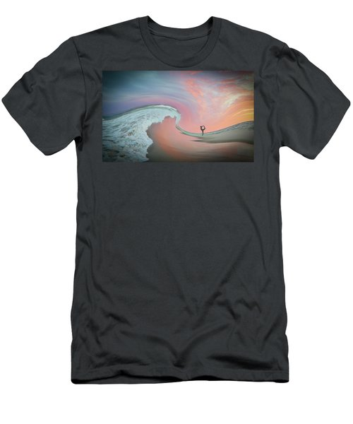 Magical Beach Sunset Men's T-Shirt (Athletic Fit)