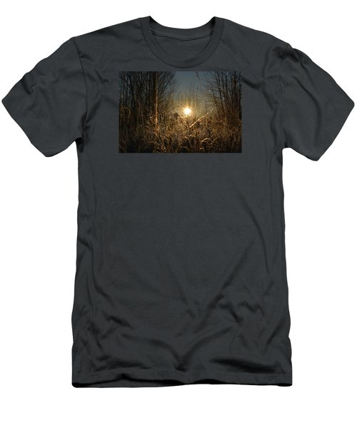 Men's T-Shirt (Slim Fit) featuring the photograph Magical Sunrise by Dacia Doroff