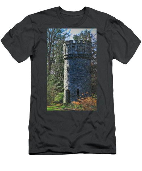 Magical Tower Men's T-Shirt (Slim Fit) by Patrice Zinck