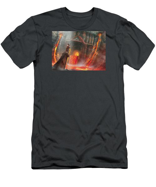 Magmatic Insight Men's T-Shirt (Athletic Fit)