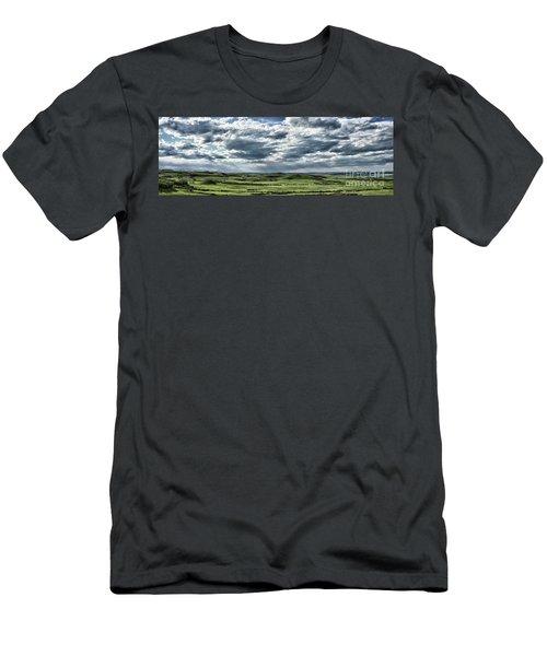 Magnetic View Men's T-Shirt (Athletic Fit)