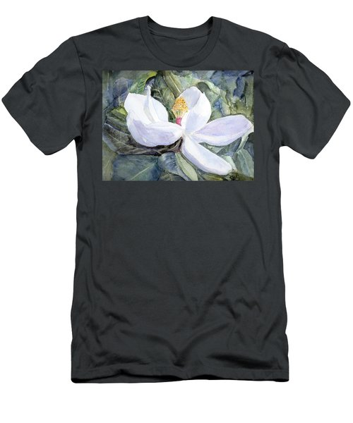 Magnolia Blossom Men's T-Shirt (Athletic Fit)