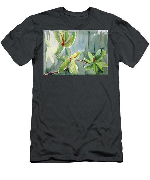 Magnolia Grove4 Men's T-Shirt (Slim Fit) by Tom Simmons
