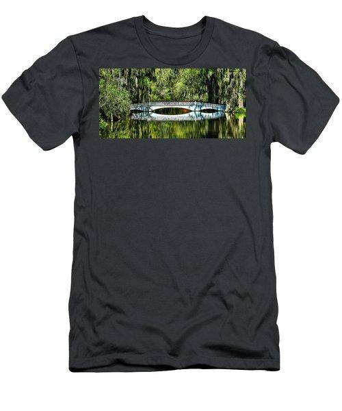 Magnolia Plantation Bridge - Charleston Sc Men's T-Shirt (Athletic Fit)