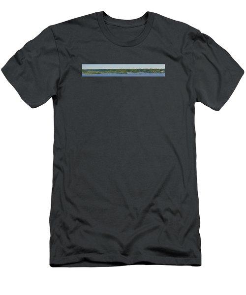 Maiden Rock, Wi Men's T-Shirt (Slim Fit) by Dan Traun
