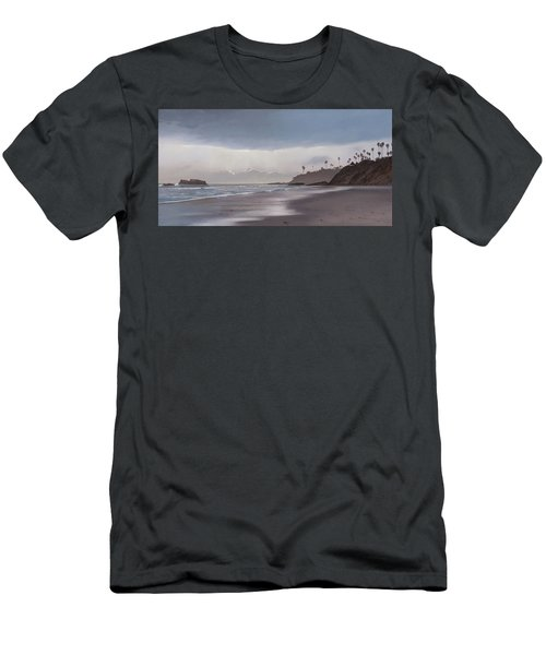 Main Beach Reflections Men's T-Shirt (Athletic Fit)