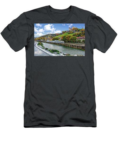 Main River Panorama Men's T-Shirt (Athletic Fit)