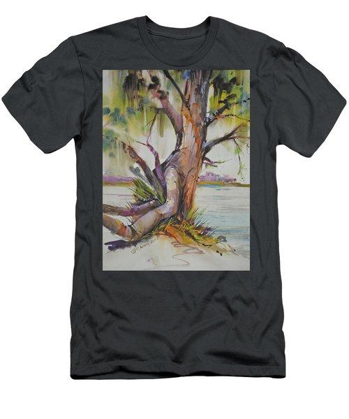 Majestic Live Oak  Men's T-Shirt (Athletic Fit)