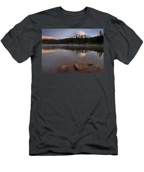 Majestic  Rainier Dawn Men's T-Shirt (Athletic Fit)