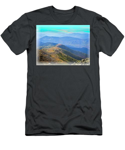 Majestic White Mountains Men's T-Shirt (Athletic Fit)