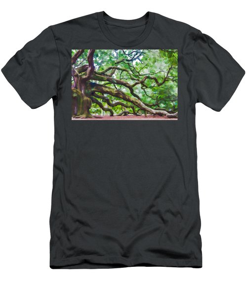 Majesty - The Angel Oak Men's T-Shirt (Athletic Fit)