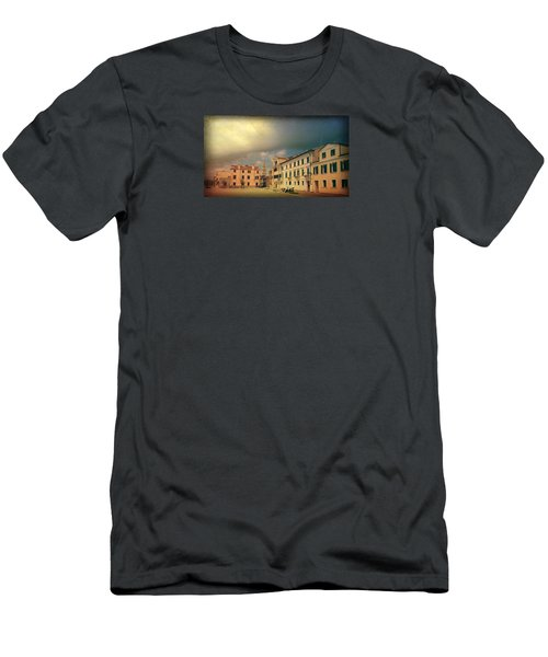 Men's T-Shirt (Slim Fit) featuring the photograph Malamacco Massive Cloud by Anne Kotan