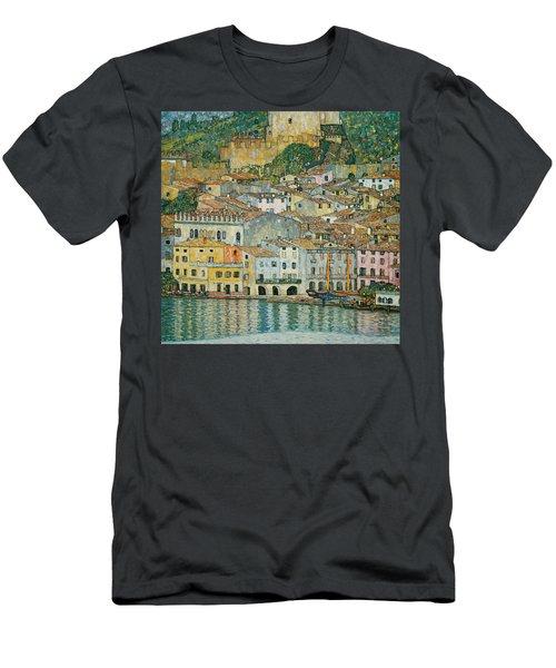 Malcesine  Lake Garda Men's T-Shirt (Athletic Fit)