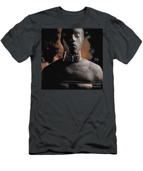 Male Masked Men's T-Shirt (Athletic Fit)