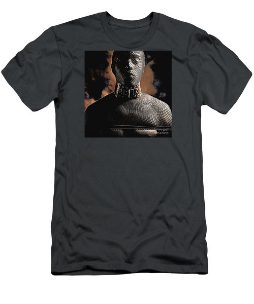 Male Masked Men's T-Shirt (Athletic Fit)
