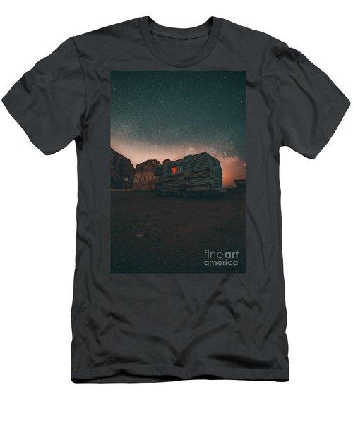 Malibu Trailer Park Men's T-Shirt (Athletic Fit)
