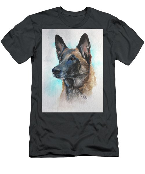 Malinois Men's T-Shirt (Athletic Fit)