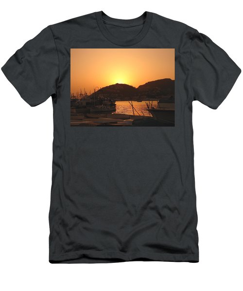 Men's T-Shirt (Slim Fit) featuring the photograph Mallorca 1 by Ana Maria Edulescu