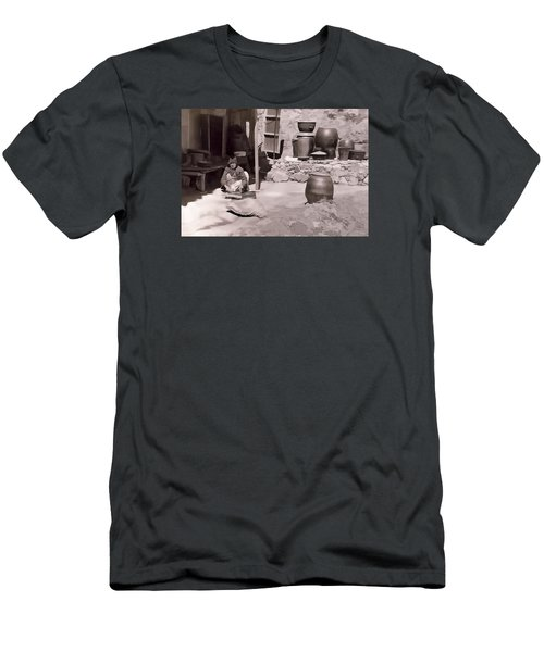 Men's T-Shirt (Slim Fit) featuring the photograph Mamasan by Dale Stillman