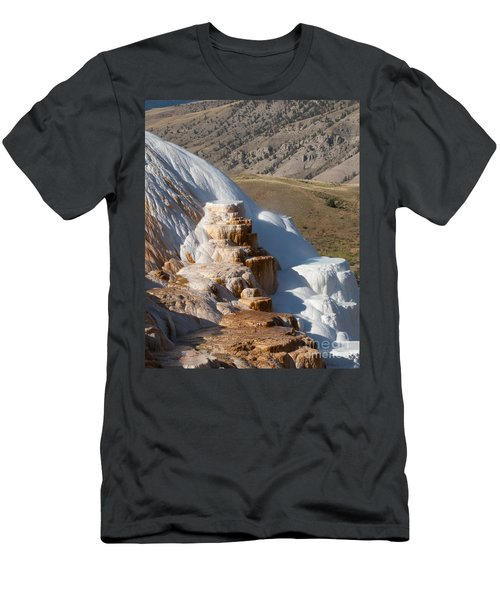 Mammoth Hot Springs  Men's T-Shirt (Athletic Fit)