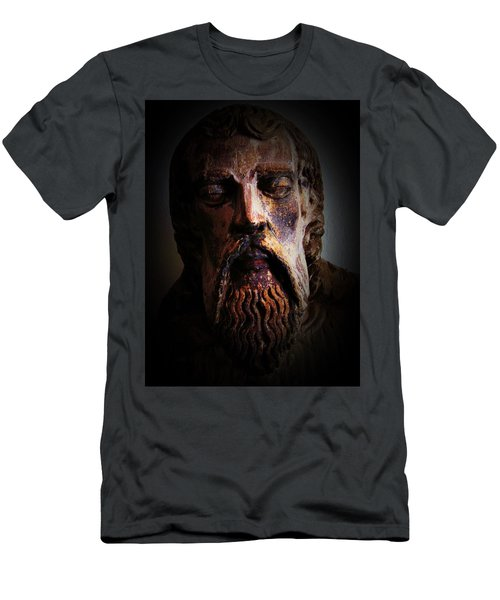 Men's T-Shirt (Slim Fit) featuring the photograph Man Of Color 1 by Maria Huntley