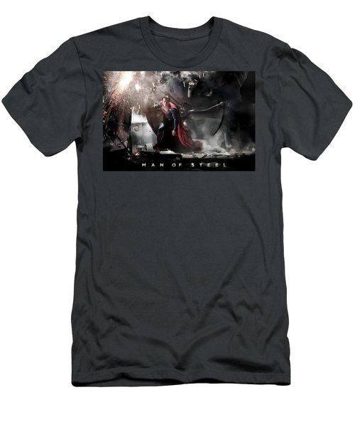Man Of Steel Men's T-Shirt (Athletic Fit)