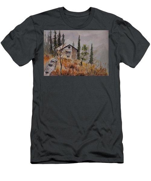Manali Scene2 Men's T-Shirt (Athletic Fit)