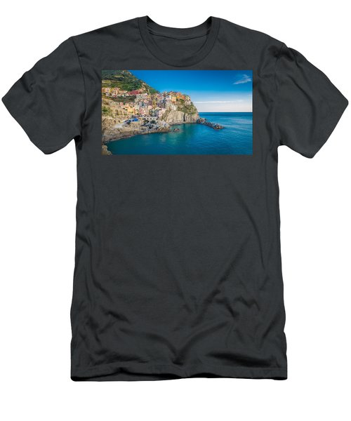 Manarola - Cinque Terre Men's T-Shirt (Athletic Fit)