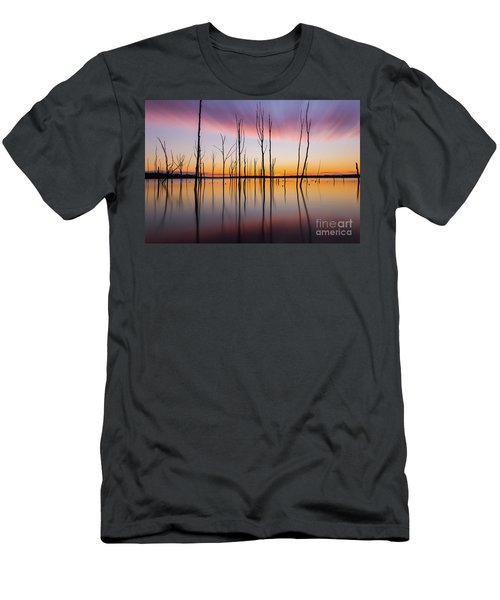 Manasquan Reservoir Long Exposure Men's T-Shirt (Athletic Fit)