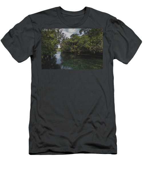 Manatee Springs Men's T-Shirt (Athletic Fit)