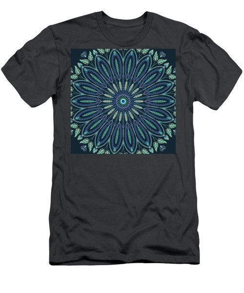 Mandala 3 Men's T-Shirt (Athletic Fit)