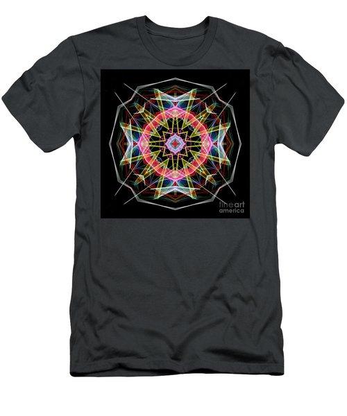 Men's T-Shirt (Athletic Fit) featuring the digital art Mandala 3313 by Rafael Salazar