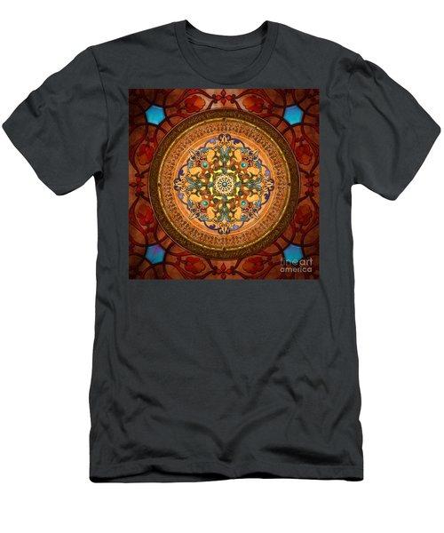 Mandala Arabia Men's T-Shirt (Athletic Fit)