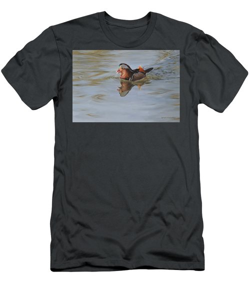Mandarin Duck Men's T-Shirt (Athletic Fit)