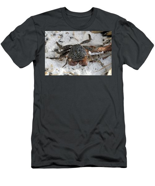 Men's T-Shirt (Slim Fit) featuring the photograph Mangrove Tree Crab by Doris Potter