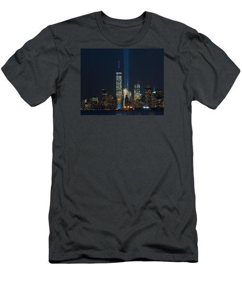Manhattan 9.11.2015 Men's T-Shirt (Slim Fit) by Kenneth Cole