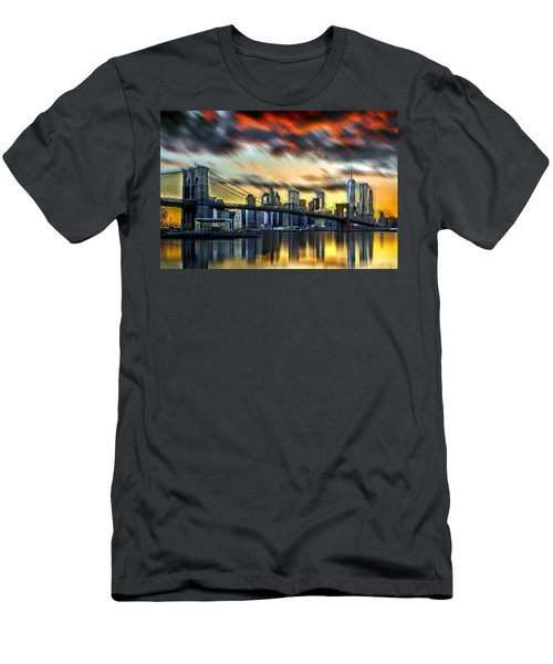 Manhattan Passion Men's T-Shirt (Slim Fit) by Az Jackson