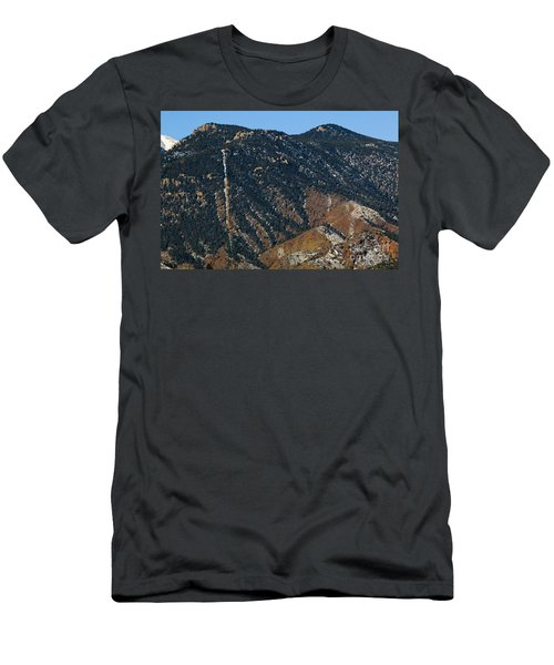 Manitou Incline Photographed From Red Rock Canyon Men's T-Shirt (Athletic Fit)